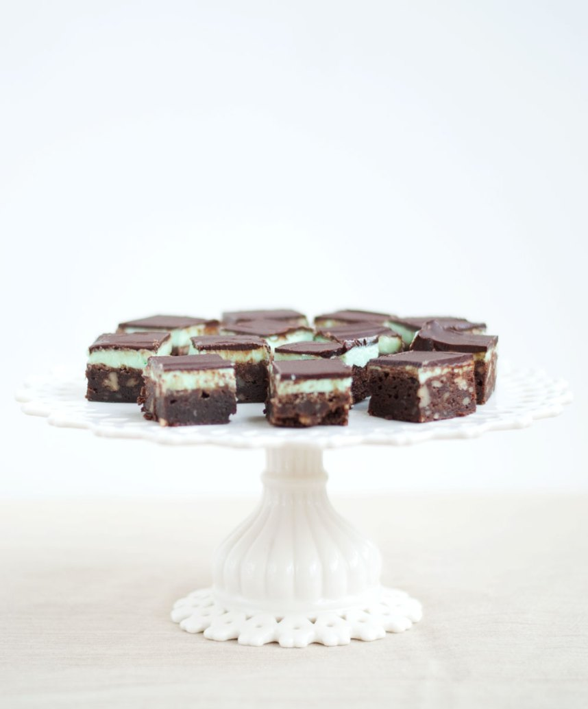 Chocolate Peppermint Squares | Hottie Biscotti