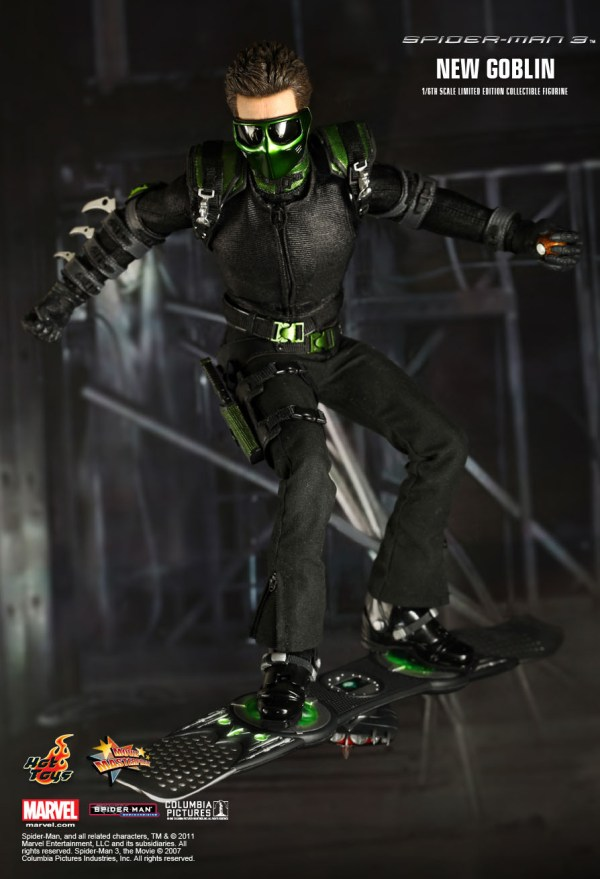 Hot Toys Spider-man 3 - Goblin 1 6th Scale Limited