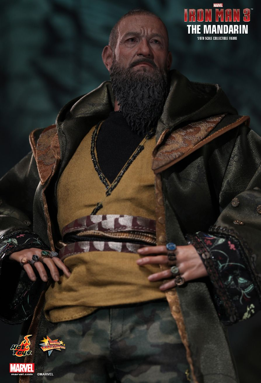 Hot Toys  Iron Man 3  The Mandarin 16th scale