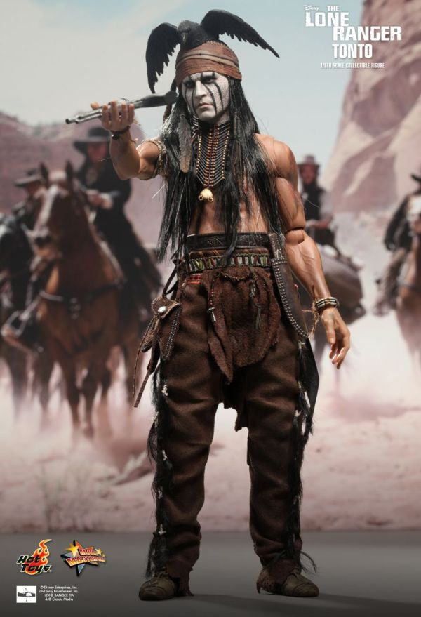 Hot Toys Lone Ranger - Tonto 1 6th Scale Collectible Figure