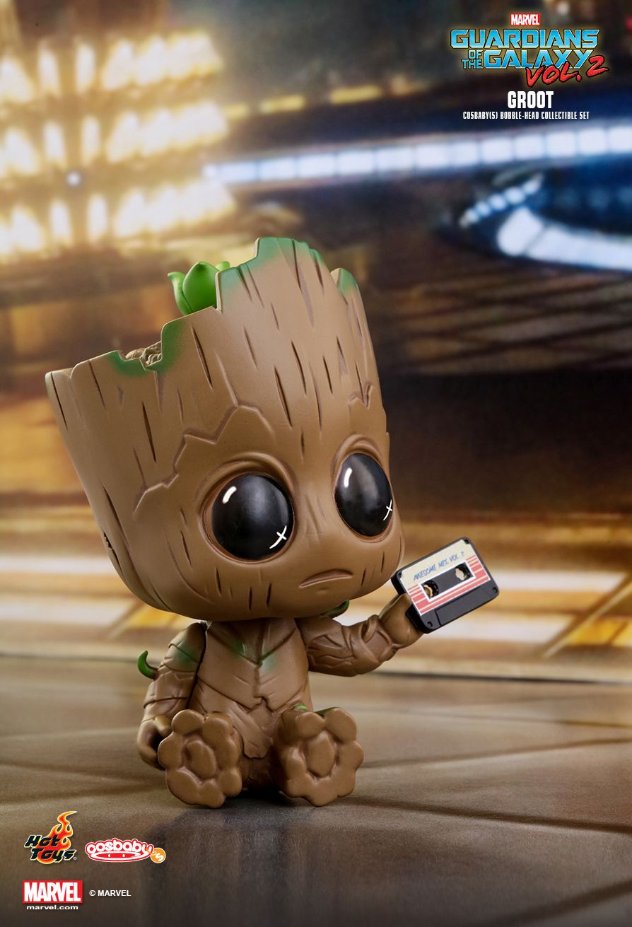 Very Cute Baby Girl Wallpapers Hd Hot Toys Guardians Of The Galaxy Vol 2 Groot Cosbaby