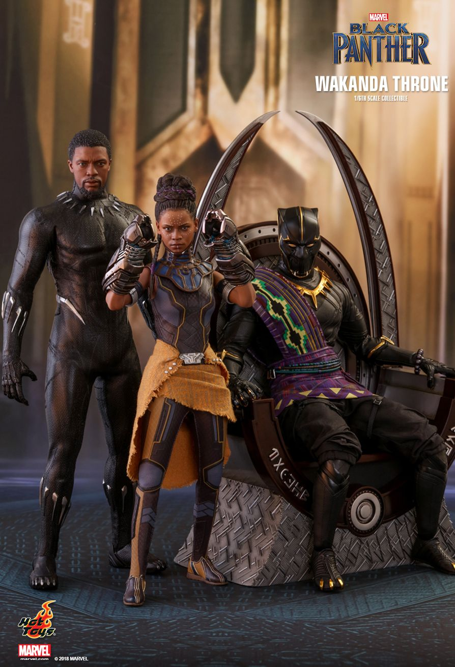 Hot Toys  Black Panther  Wakanda Throne 16th scale