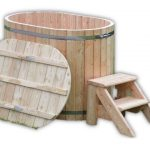 Ofuro voor 2 personen houten model