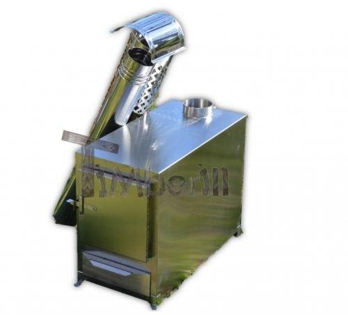 Buiten roestvrij staal kachel voor hot tubs [rechthoekig model] - TimberIN