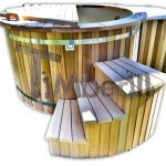 Hottub Red Cedar Kunststof Uden Spa