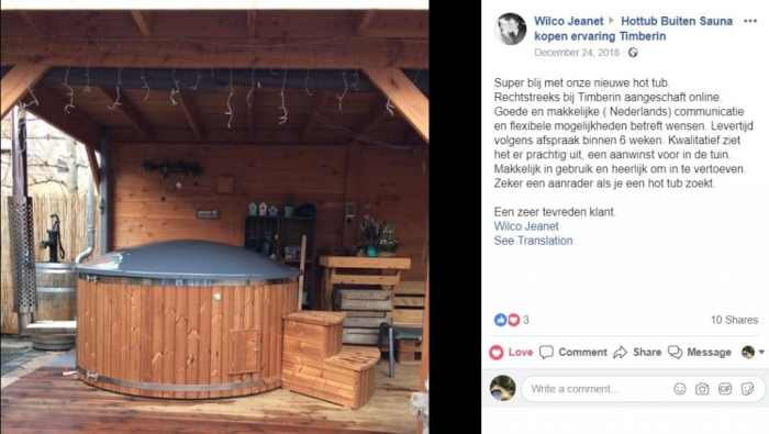 Wilco Jeanet Hottub Kopen TimberIN SPA