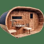Ovale Buitentuin Sauna (1)