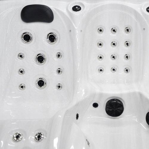 Ocean Stream - 6 Person Hot Tub Details Image-2