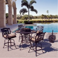 Fiesta Outdoor Patio Bar Height Set - Hot Tubs and Pool ...