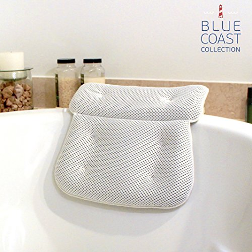 Blue Coast CollectionBath Pillow for Tub with Konjac