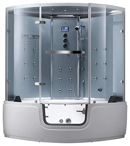2019 Comfort Computerized Steam Shower Sauna with Jetted ...