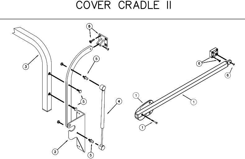 72690 Lifter Cover Cradle II