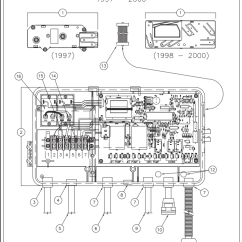 Marquis Spa Parts Diagram Create Your Own Venn Free 71485 Iq2000 Control Box 1998-2000   Hot Spring And Filters