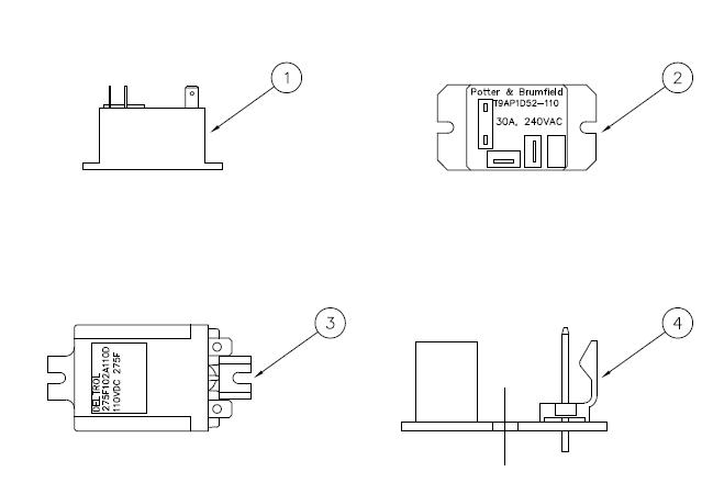 35043 Pwa relay Switch 12volt DC
