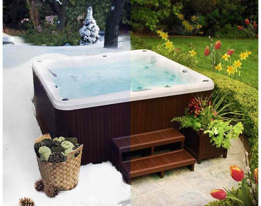 Restarting your hot tub after winter