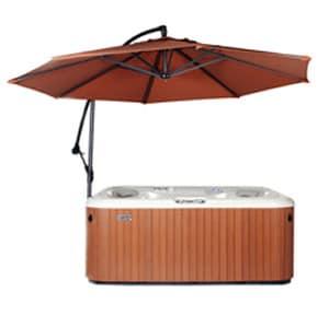 Hot Tub umbrella in rust