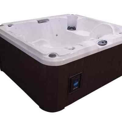 Jacuzzi J-215 hot tub side