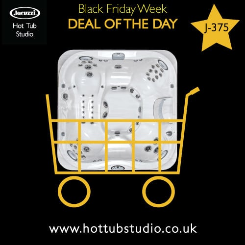 Black Friday Hot Tub Sale – Jacuzzi J-375