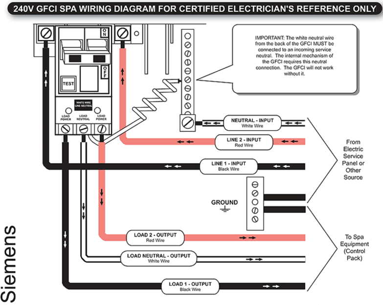 Gfci Receptacle Wiring Diagram
