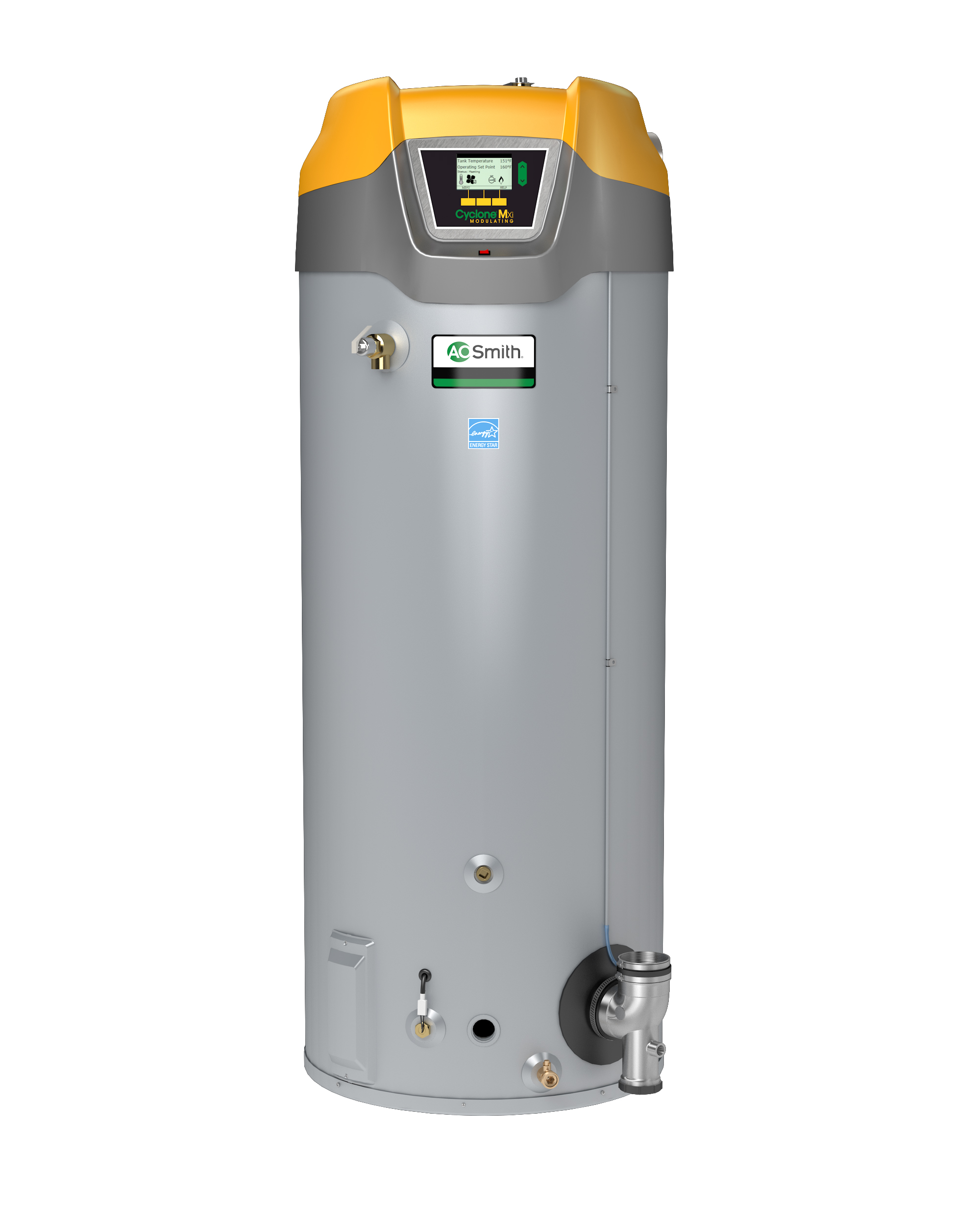hight resolution of a o smith cyclone mxi elevates product innovation with new water heater design