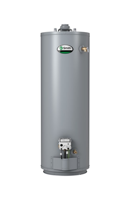 small resolution of  promax atmospheric vent gas water heater a o smith adds 55 gallon atmospheric vent gas model hot
