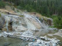 Bonneville Hot Springs Idaho