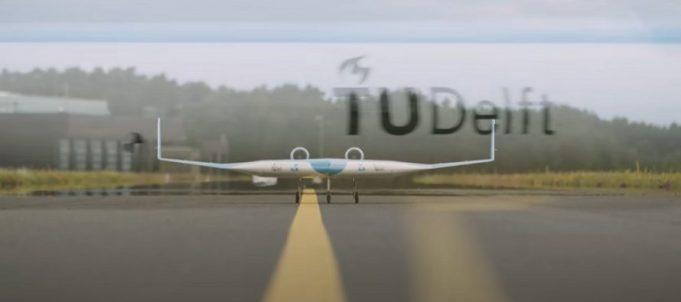 Flying-V, avionul viitorului, a avut primul zbor de test. A fost un succes, a anuntat echipa KLM. VIDEO