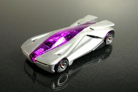 Hot Wheels Acceleracers Silencerz Anthracite