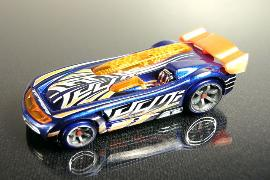 Hot Wheels Acceleracers Battle Spec Metal Maniac