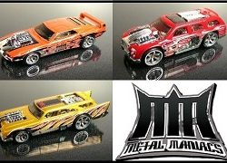 Metal Maniac Toy Car Set
