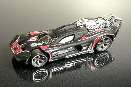 Hot Wheels Acceleracers Spine Buster Black