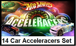 14 Car Acceleracers Set