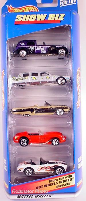 5 Packs 1999 Hot Wheels