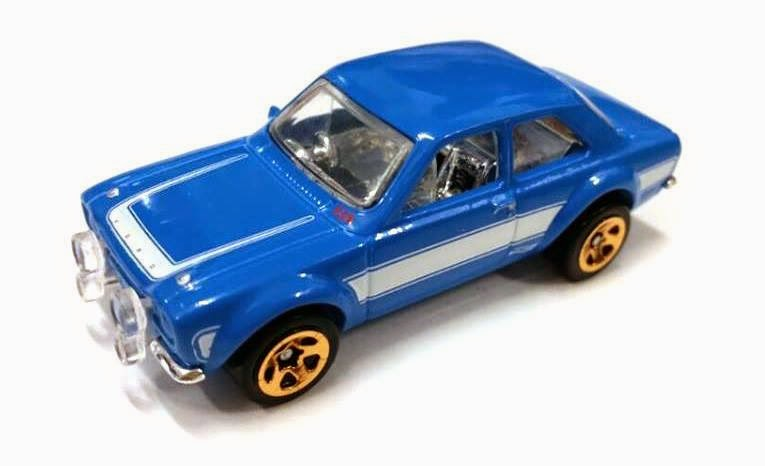 Hot Wheels '70 Ford Escort RS1600