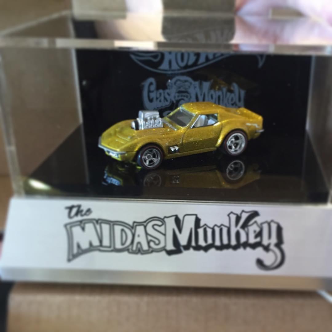 Hot Wheels Midas Monkey