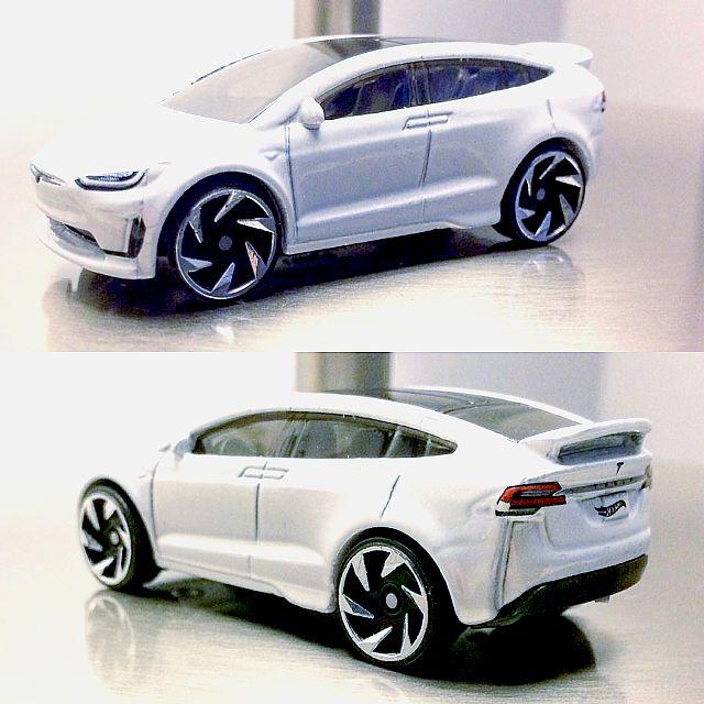 Hot Wheels : Des images pour la Tesla Model X