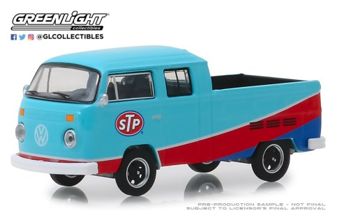 GreenLight-Collectibles-Club-V-Dub-9-1976-Volkswagen-T2-Type-2-Double-Cab-Pick-Up