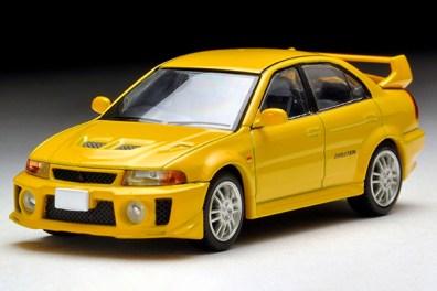 Tomica-Limited-Vintage-Neo-Mitsubishi-Lancer-GSR-Evolution-V-Yellow-6