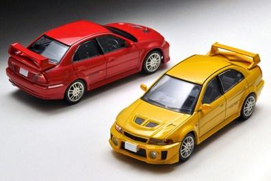 Tomica-Limited-Vintage-Neo-Mitsubishi-Lancer-GSR-Evolution-V-Yellow-8