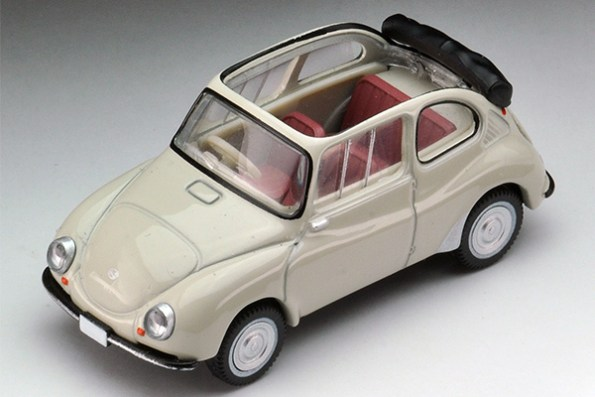 Tomica-Limited-Vintage-Neo-Subaru-360-Convertible-1961-Toit-ouvert-1