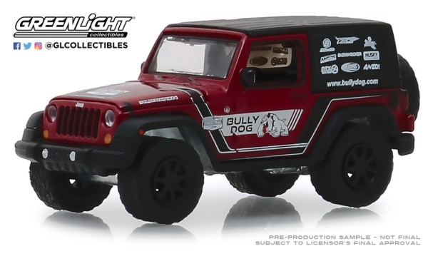 GreenLight-Collectibles-Bully-Dog-series-2012-Jeep-Wrangler-Bully-Dog