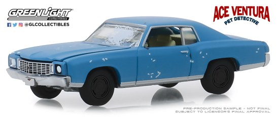 GreenLight-Collectibles-Hollywood-25-1972-Chevrolet-Monte-Carlo-Ace-Ventura-Pet-Detective