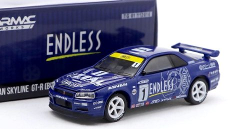 Tarmac-Works-X-GreenLight-Collectibles-Nissan-Syline-GT-R-R34-Endless