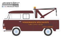GreenLight-Collectibles-Blue-Collar-Series-6-1968-Volkswagen-Type-2-Crew-Cab-Pick-Up