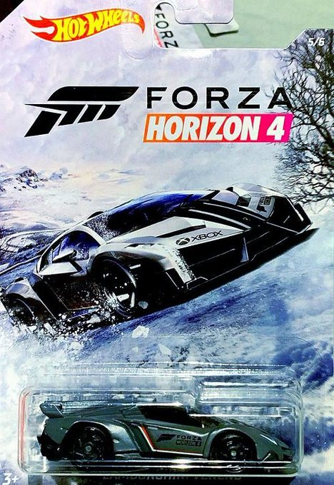 Hot-Wheels-2019-Forza-Horizon-4-Collection-Lamborghini-Veneno