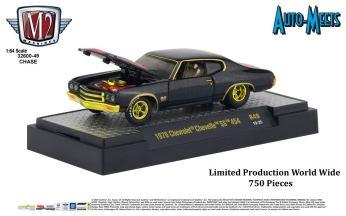 M2-Machines-Auto-Meet-49-1970-Chevrolet-Chevelle-SS-454-Chase-Car