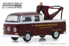 GreenLight-Collectibles-Blue-Collar-Series-6-1968-Volkswagen-Type-2-Crew-Cab-Pick-Up