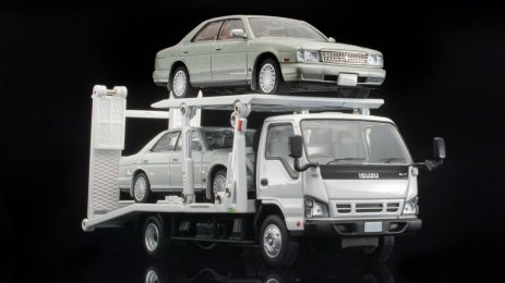 Tomica-Limited-Vintage-Isuzu-ELF-Hanamidai-Auto-Safety-Loader-Big-Wide-001