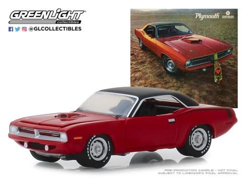 GreenLight-Collectibles-Vintage-Ad-Cars-1970-Plymouth-HEMI-Cuda