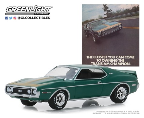 GreenLight-Collectibles-Vintage-Ad-Cars-1971-AMC-Javelin-AMX